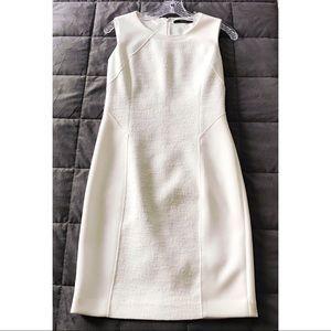 Tahari  Ivory Sheath Dress